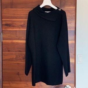 Escada black wool sweater. Size 44 euro